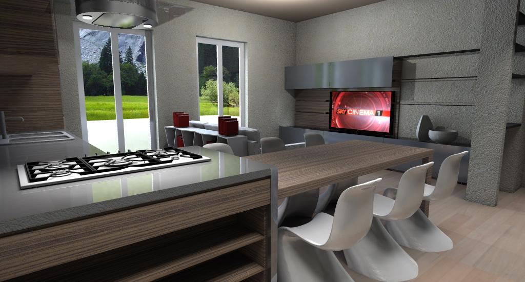 Progettazione frac arredamenti arredamenti cucine for Progetti case interni